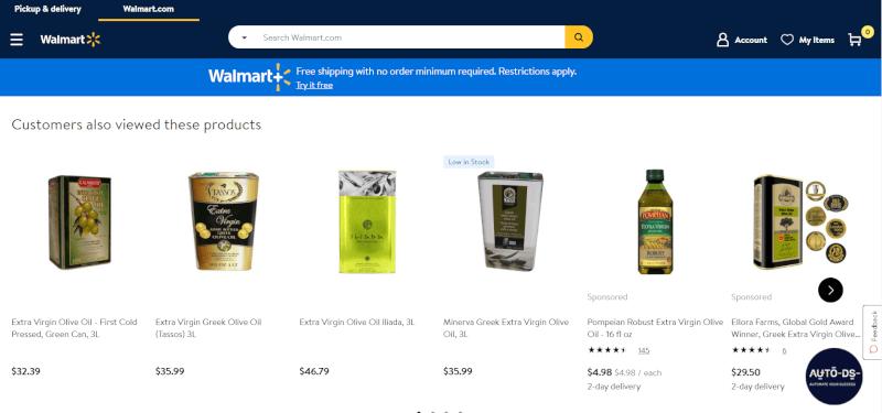 Walmart Ecommerce platform Dropshipping supplier