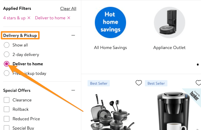 walmart dropshipping delivery