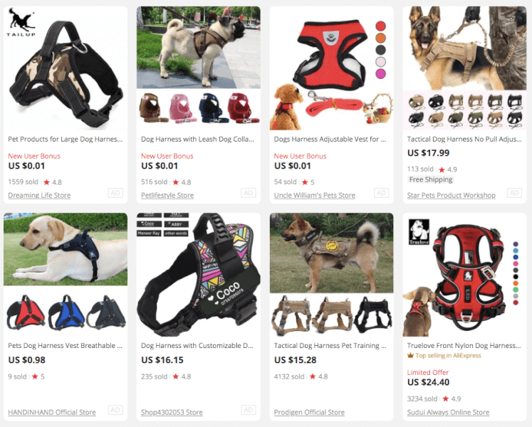 Dog Harness for Pets