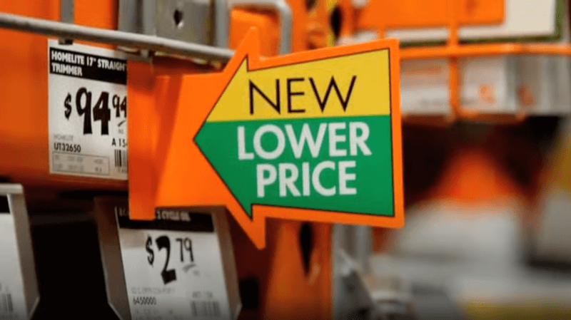 home depot new lower prices dropshipping