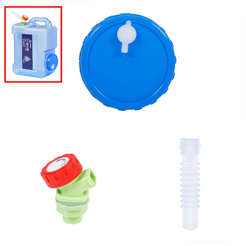 Hewolf Plastic Water Tank Faucet Extension Tube Spare Bucket Cover Accessories for Model 1801 Water Bucket