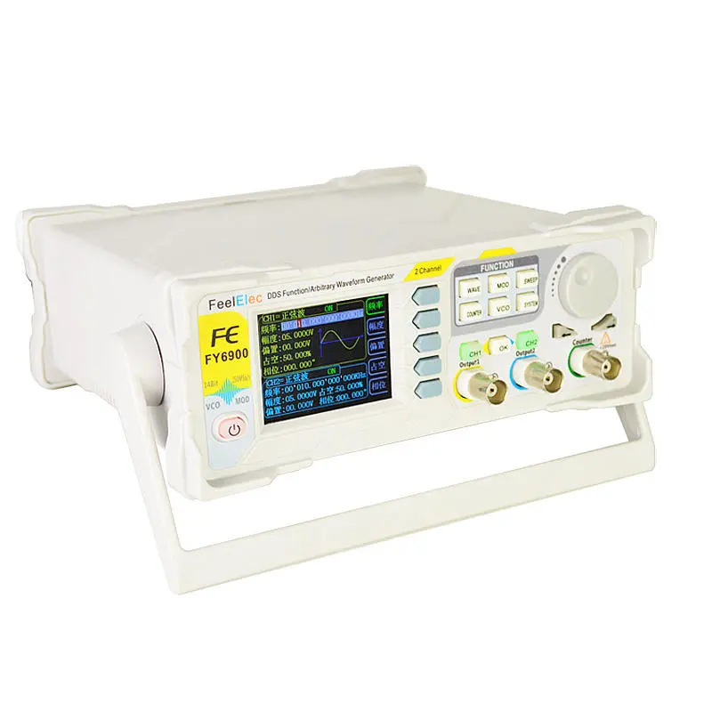 FY6900 30MHZ Dual Channel DDS Function Arbitrary Waveform Signal Generator Pulse Signal Source Frequency Counter Fully Numerical Control