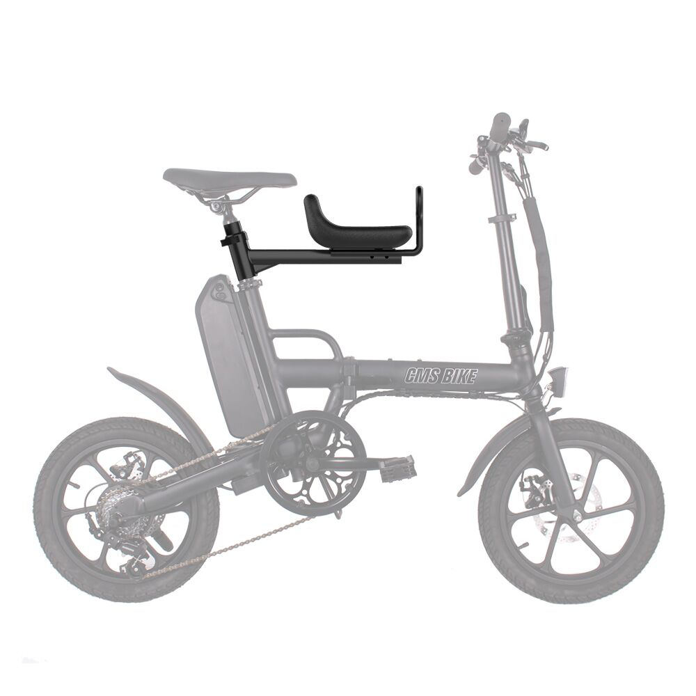 CMSBIKE Safety Seats for F16/ F16 Plus/ Mini Electric Bike Max Load Bearing 50Kg Baby Kids Front Seat Chair Saddle Cushion Motorcycle E-Bike Accessories