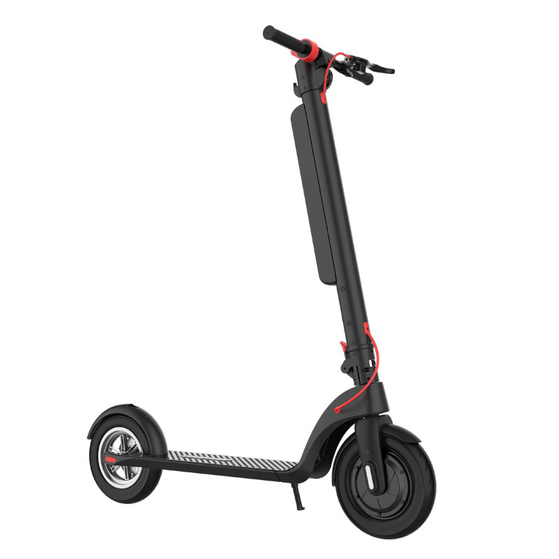 [US DIRECT] HX X8 10Inch 350W 36V 10Ah Electric Scooter 25Km/H Max Speed 45Km Max Mileage 100Kg Max Load Scooter