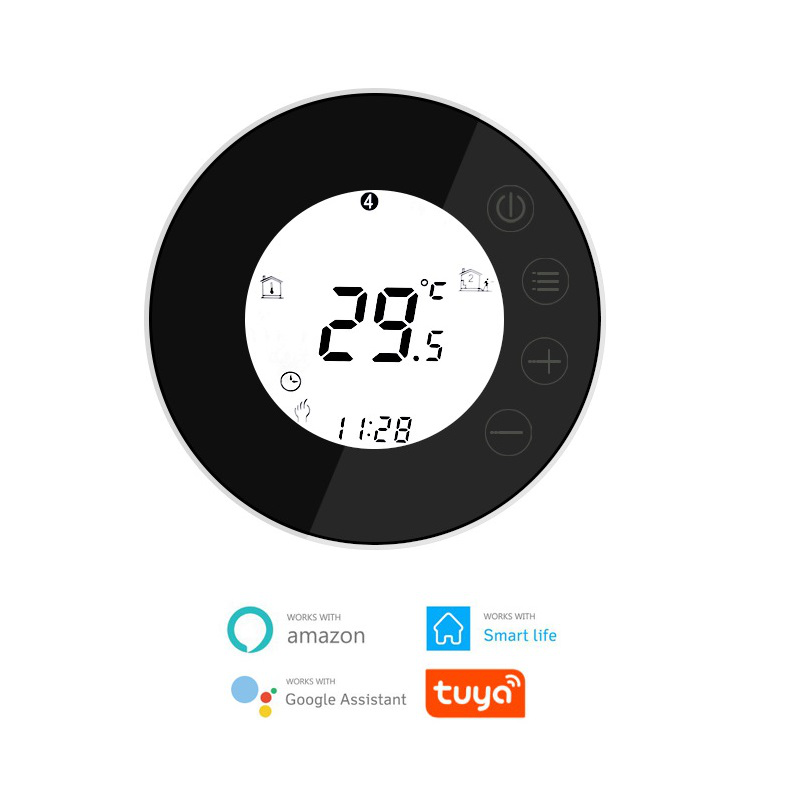 X7HGB Programmable Intelligent Electric Heating Thermostat WIFI LCD Touch Screen Temperature Control Regulator