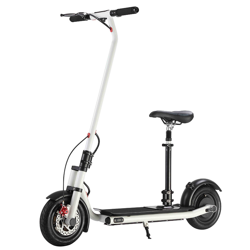 NEXTDRIVE N-7 300W 36V 7.8Ah Foldable Electric Scooter Vehicle with Saddle for Adults/Kids 26 Km/H Max Speed 22Km Mileage