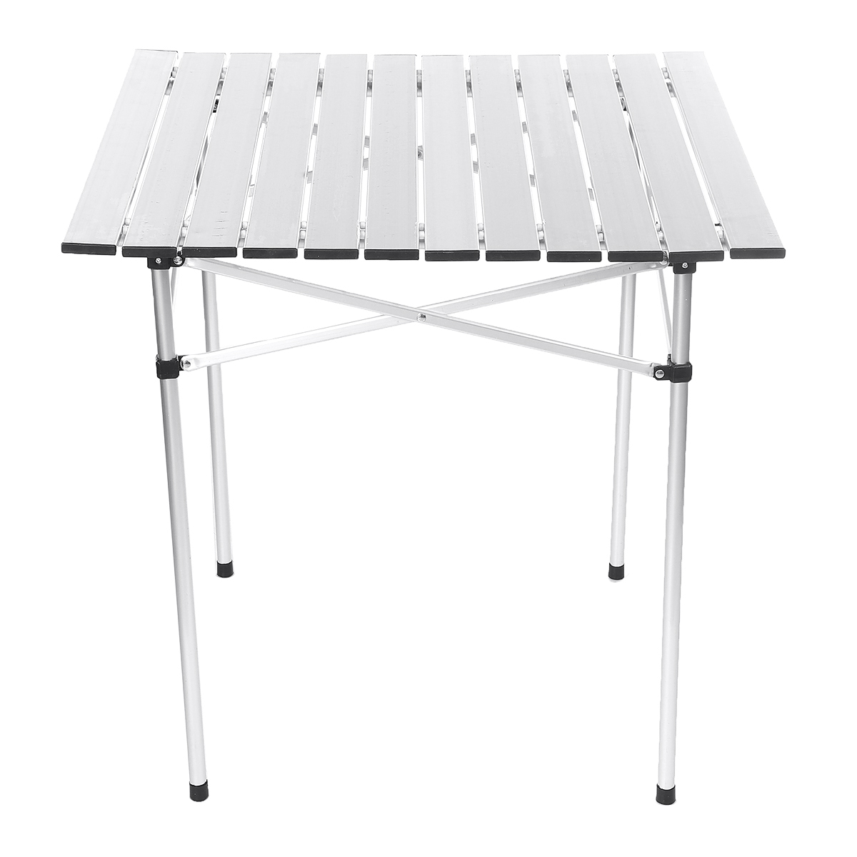 SWEI Portable Folding Table Aluminum Indoor Outdoor BBQ Picnic Party Camping Desk
