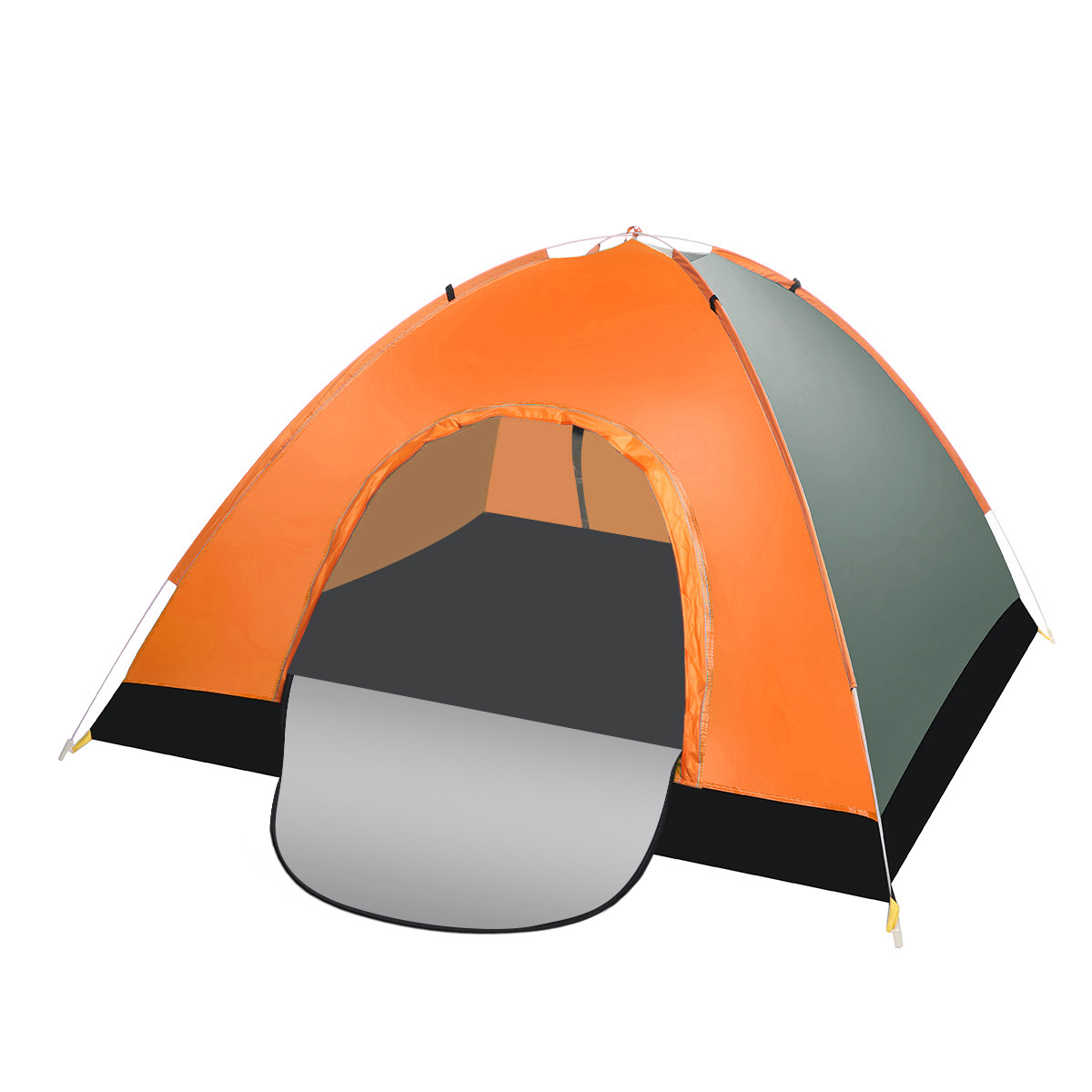 Ipree® 3-4 Person Double Door Automatic Instant Camping Tent Double Layer Waterproof Tent for Hiking Travelling