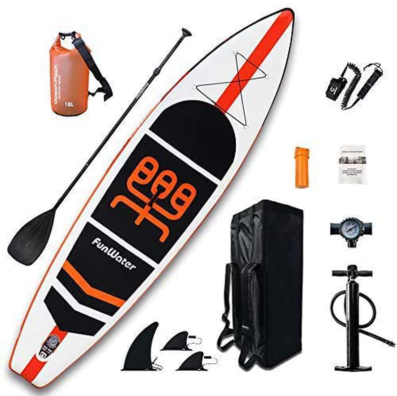 Funwater Inflatable Stand up Paddle Board 11'×33