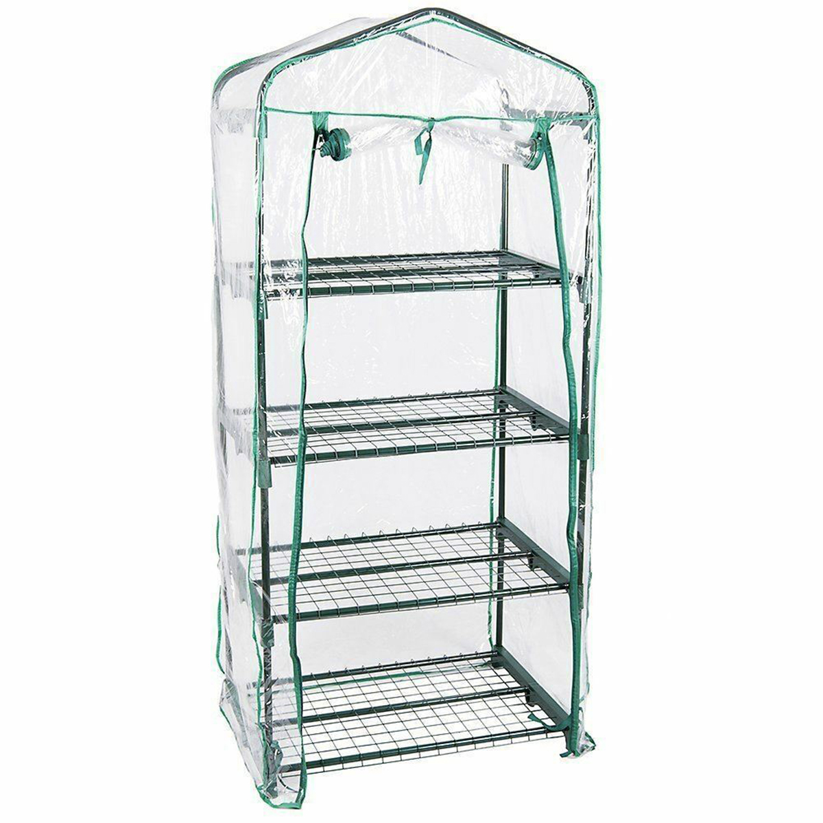 Mini Greenhouse Cover Clear PVC Outdoor Gardening Tier Plant Growing Green House