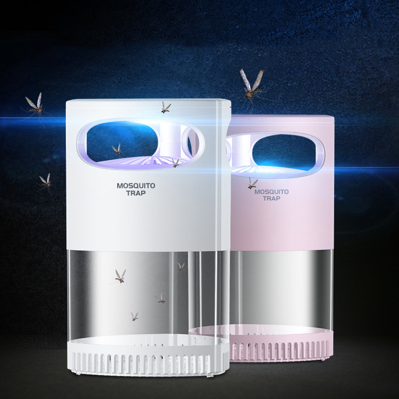 Ipree® LED Mosquito Killer Lamp USB Rechargeable Quiet Repellent Trapping Light Outdoor Indoor Camping Home