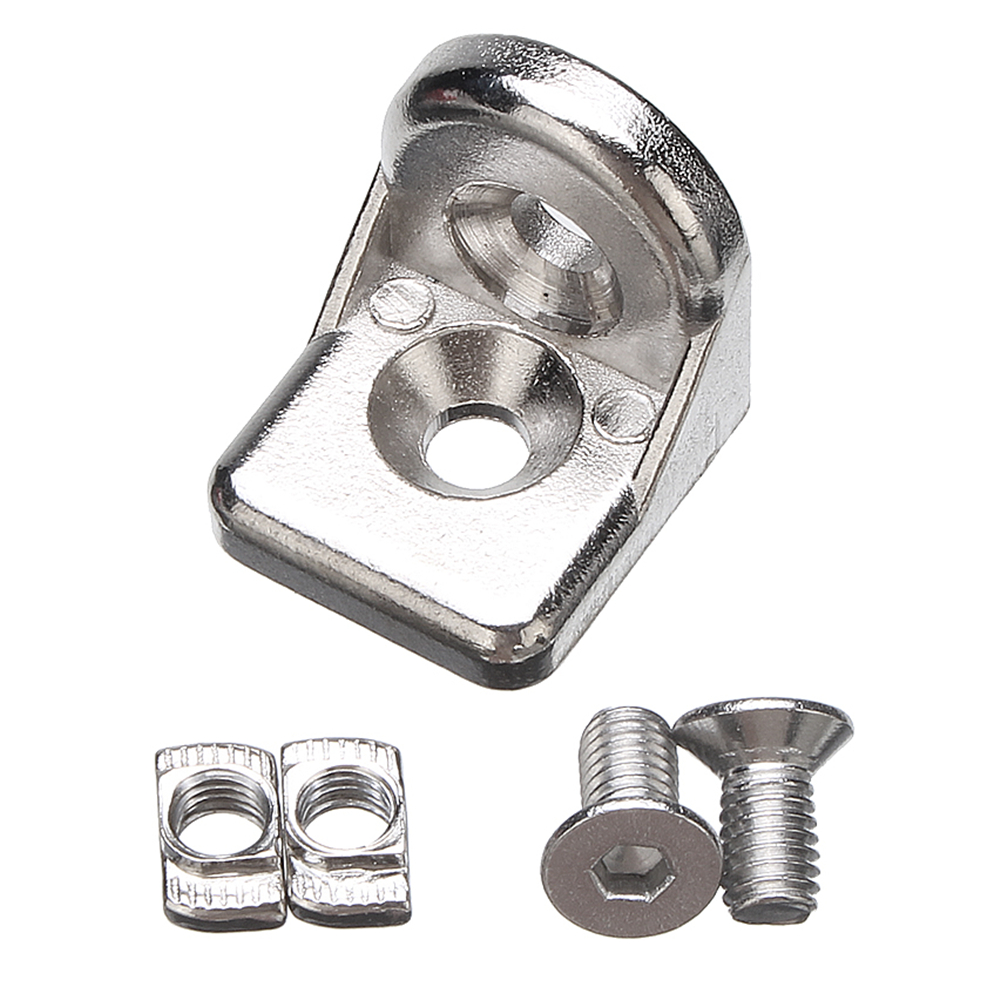 Machifit Steering Angle Connectors T-Type Nut and Bolt for 2020 Aluminum Extrusions Profiles