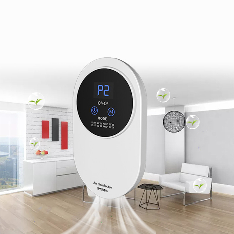 Air Purifier Disinfection Ozone Machine USB Charged Air Cleaner Household Deodorization for Kitchen Toilet - EU Plug