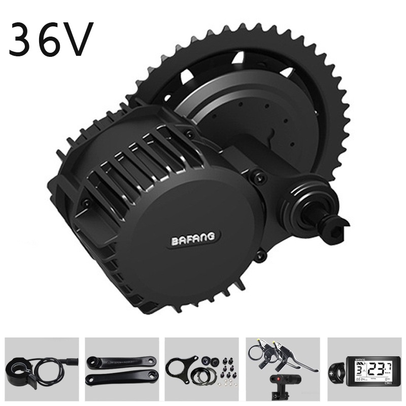BAFANG G340 36V 250W/350W/500W 46T Bicycle Modified Electric Mid-Drive Motor Kits Set for Electric Bicycle Conversion Kits