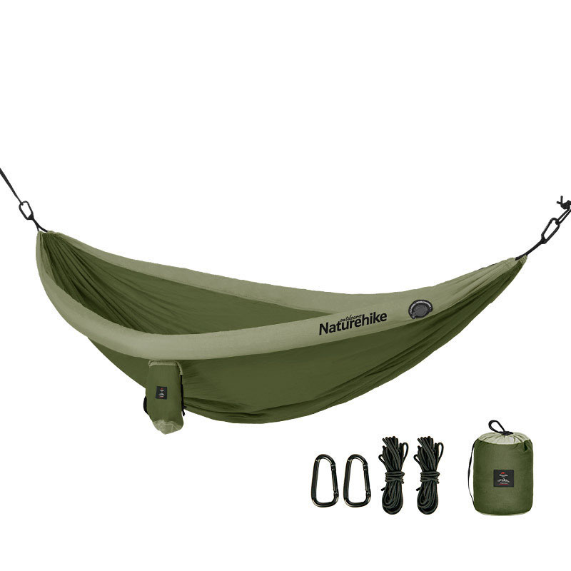 Naturehike Camping Hammock Ultralight Inflatable Swing Sleeping Bed Hanging Chair Max Load 200Kg Outdoor Travel