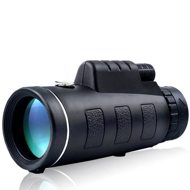 Ipree® 40X60 Upgraded Outdoor Monocular with Compass HD Optic Low Light Level Night Vision Telescope Camping Travel