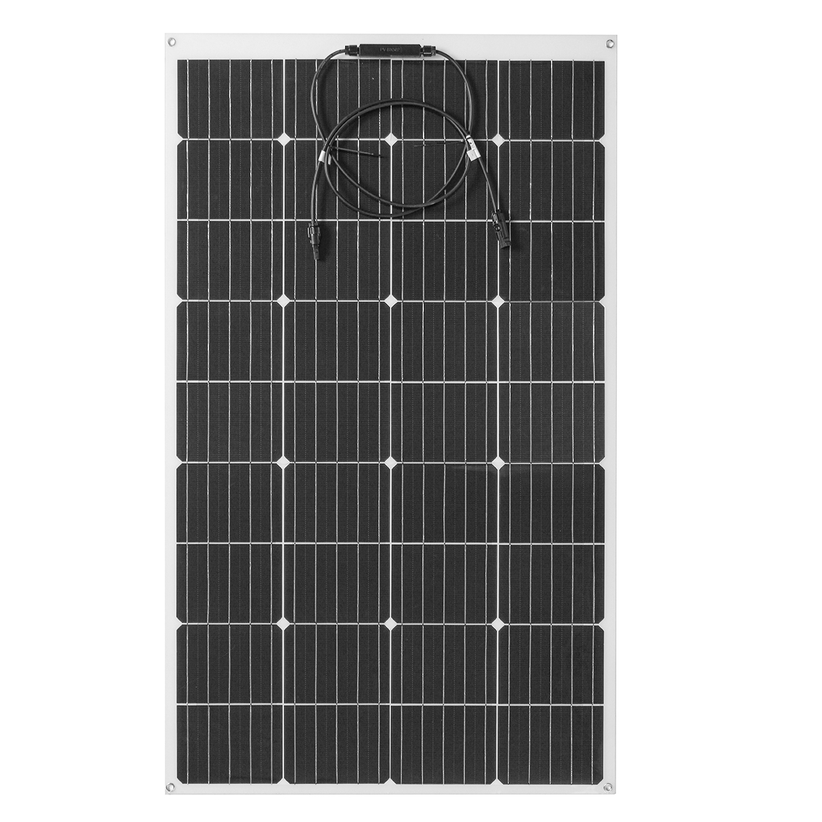 150W 18V Highly Flexible Monocrystalline Solar Panel Connector Car Boat Camping