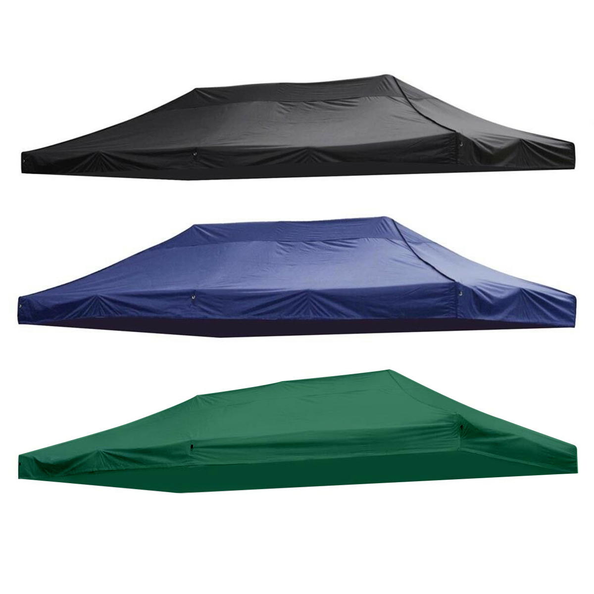 3X6M 10X20Ft 420D Waterproof Oxford Cloth Sunshade Outdoor Traveling Hiking Camping Tent