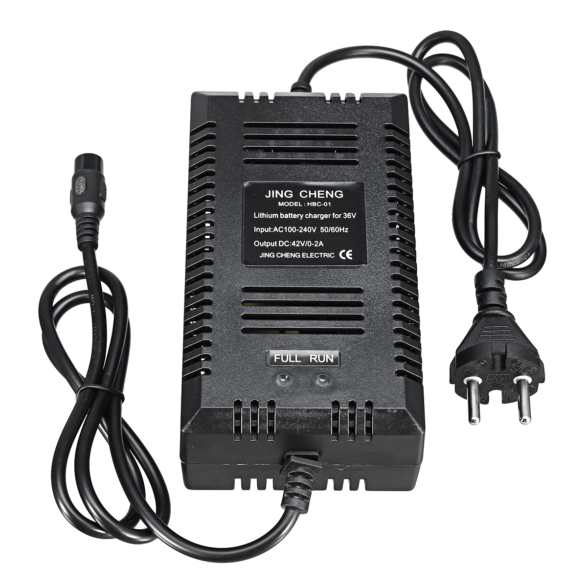 43.8V 1.6A Electric Bike Battery Charger for Scooter Power Supply Lithium Battery Charger