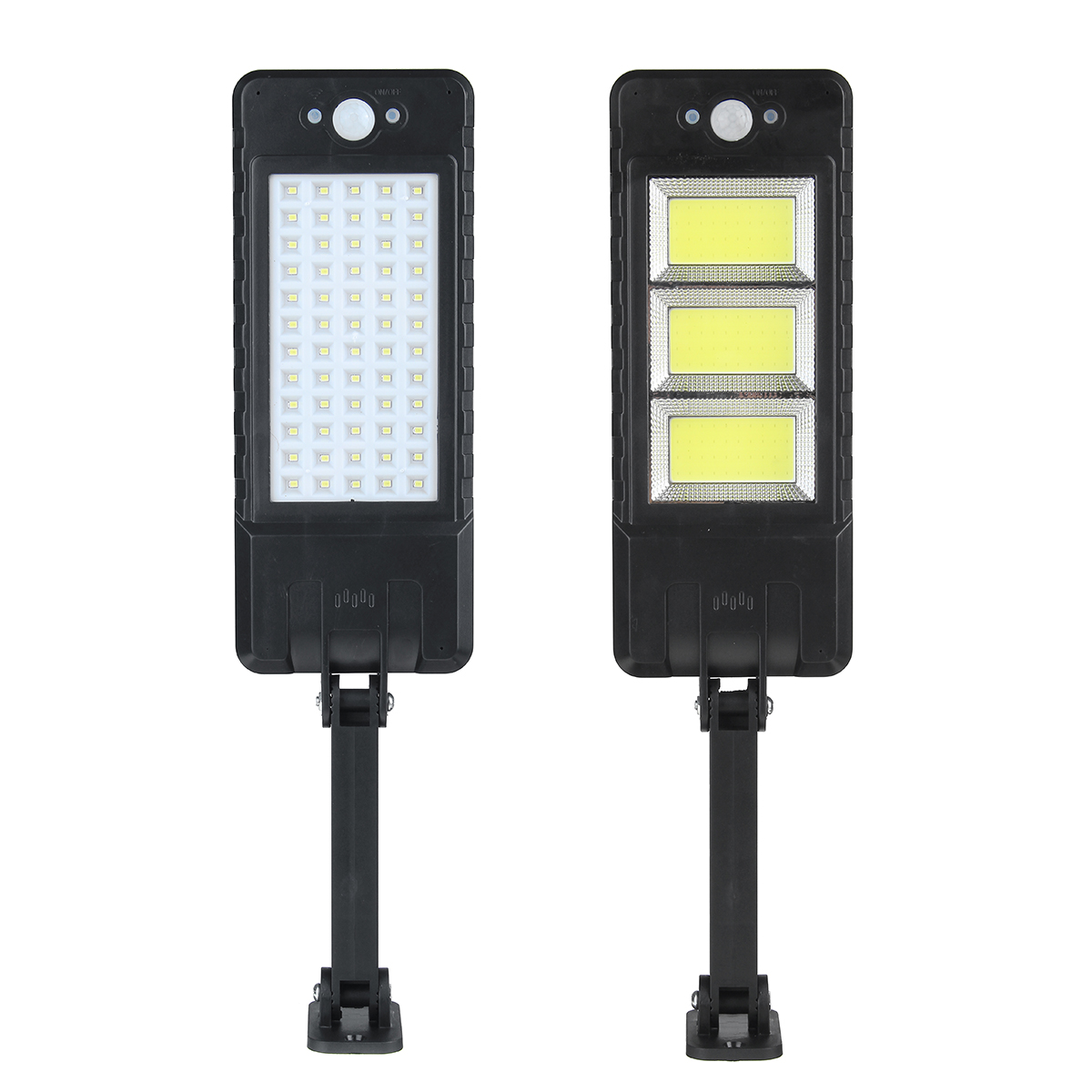 120COB/60LED Solar Flood Light 3 Modes Induction Spotlight Waterproof Camping Light with Remote Control