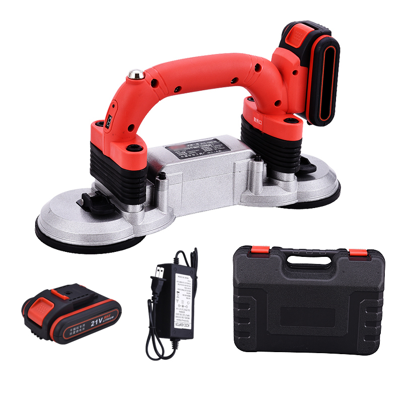 21V 60-120Mm 200KG Electric Tile Vibrator Suction Cup Tiling Tool Machine Floor Laying Machine