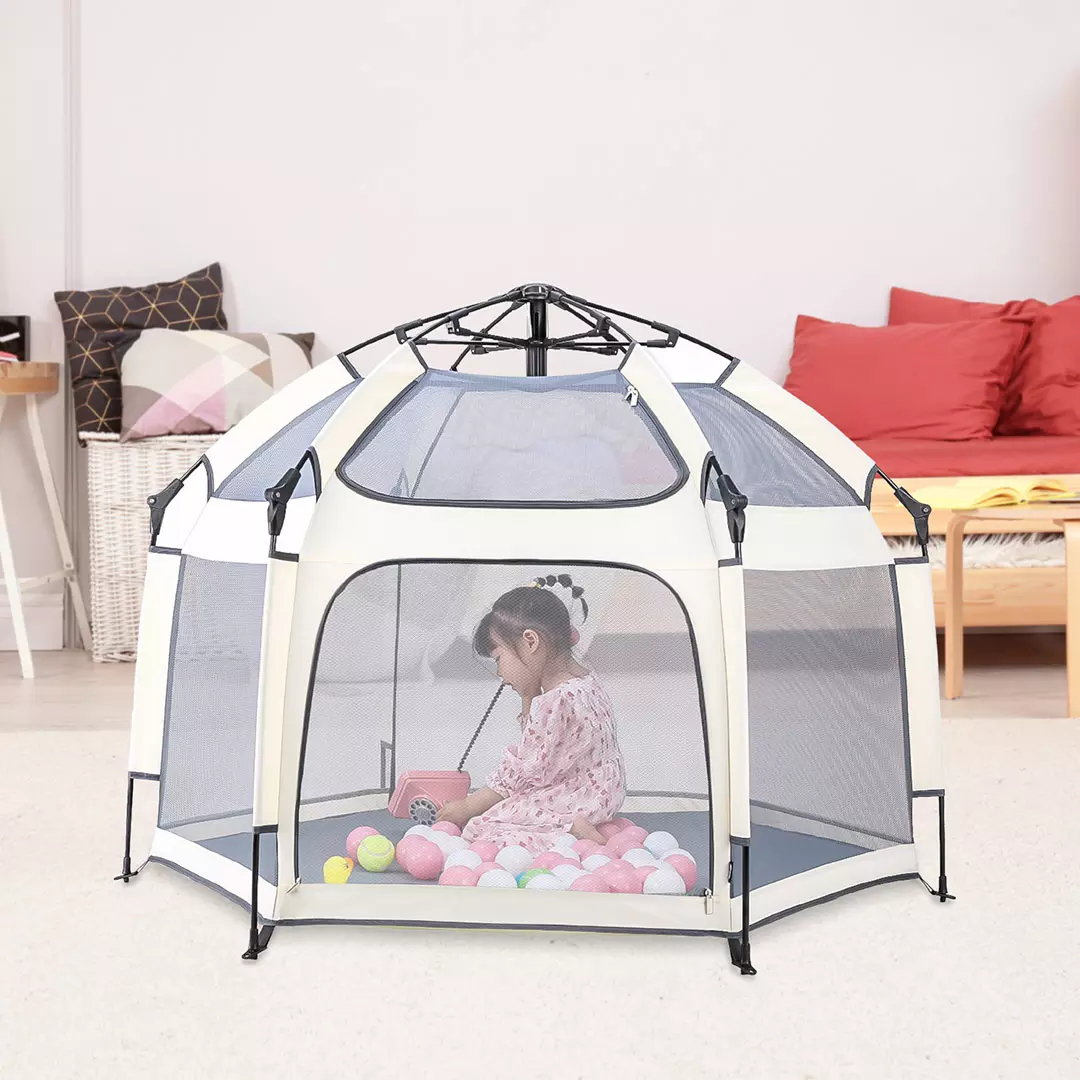 ZENPH Kids Tent from Toddler Playhouse Family Activity Beathable UPF 30+ Awning