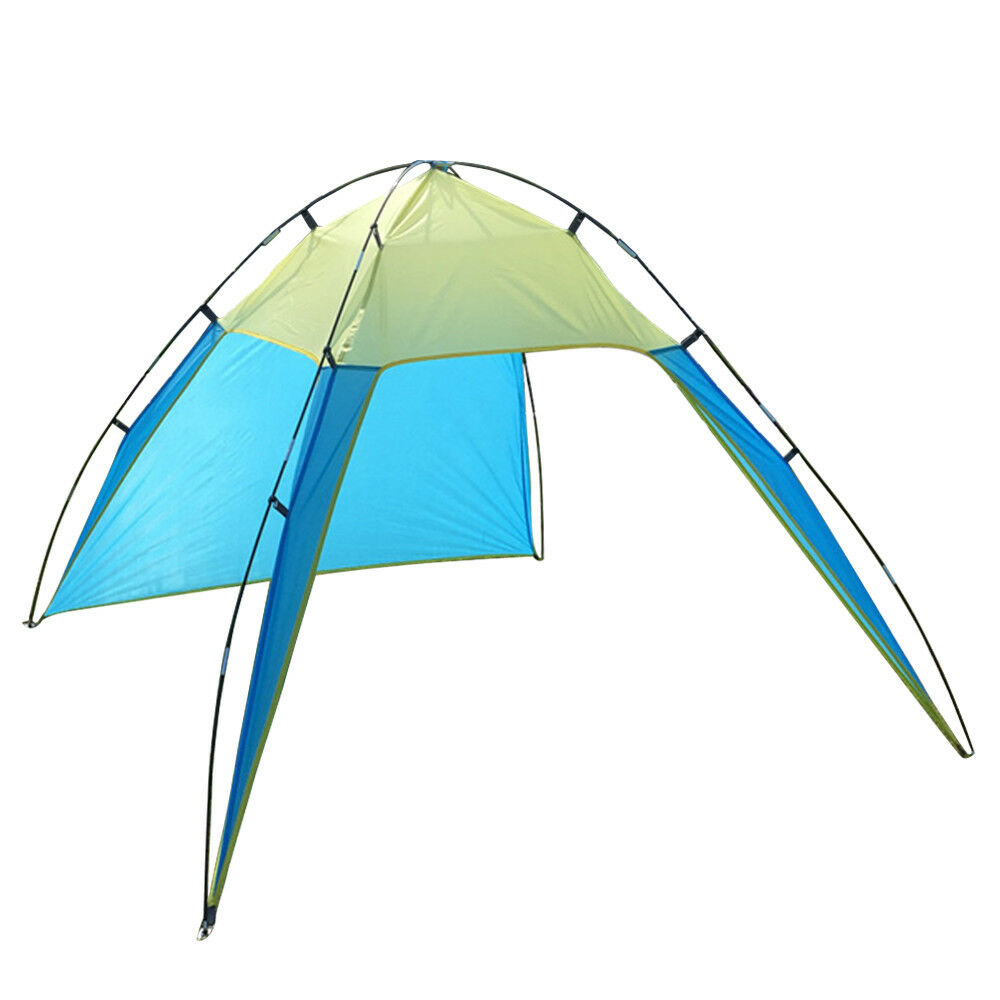 Ipree® 230 X 210 X 160/90 X 82 X 62Inch P-Op up Portable Beach Canopy UV Sun Shade Shelter Triangle Outdoor Camping Tent