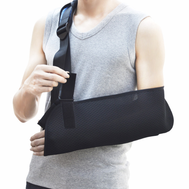 1 Pcs Arm Support Adjustable Shoulder Protector Braces Pain Relief Soft Padded Sports