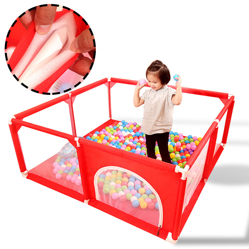 Children'S Fence Playing House Baby Entertainment Ball Pool Crawling Mat Indoor Children'S Protection Circle Children'S Playground Gifts