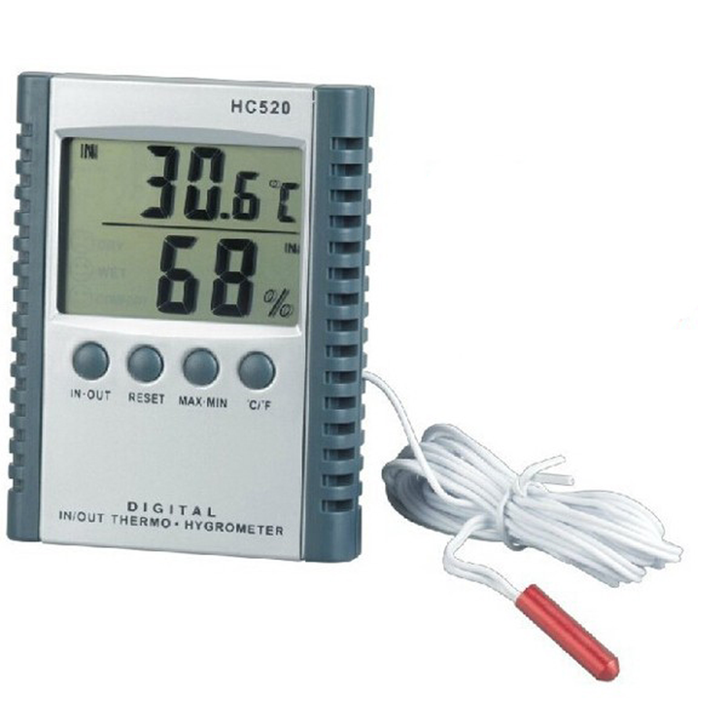 HC-520 Digital In-Outdoor Thermometer Hygrometer