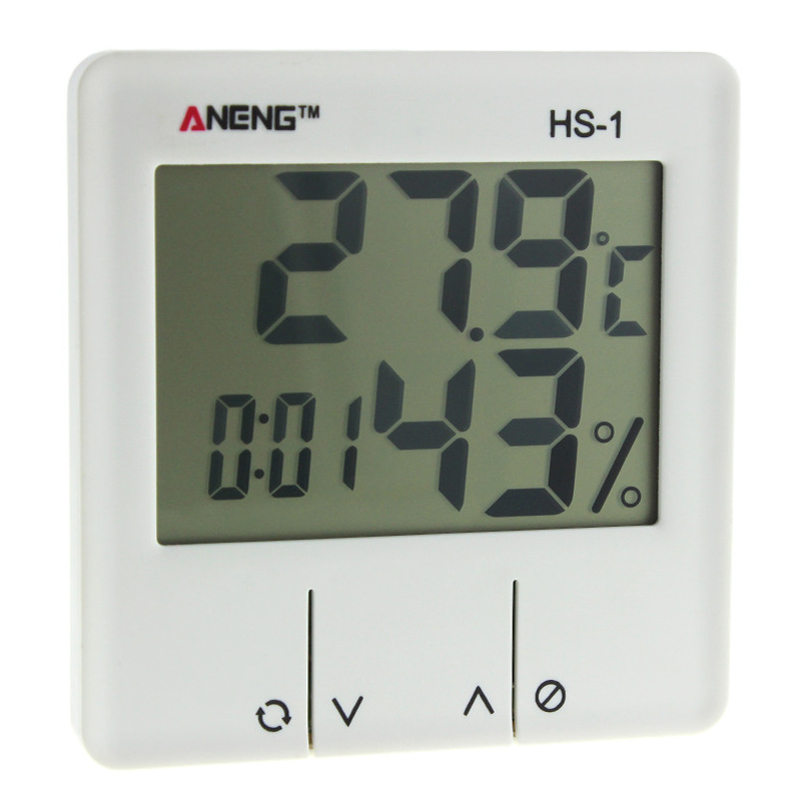 ANENG HS-1 Digital LCD Weather Station Thermometer Hygrometer Electronic Temperature Humidity Meter