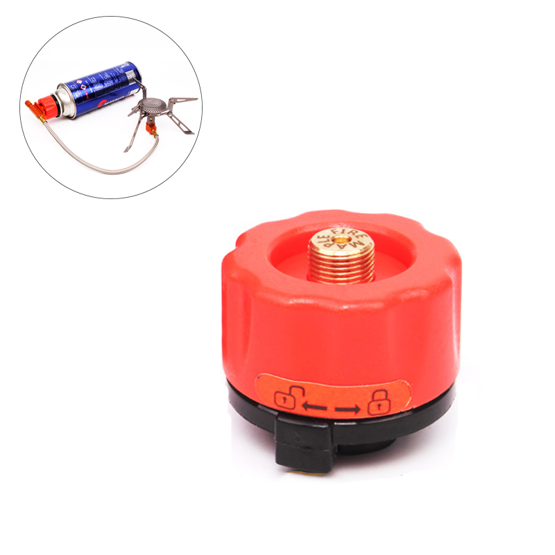 Fire Maple Stove Converter Outdoor Cooking Burner Bottle Adapter Gas Tank Connector Camping Picnic