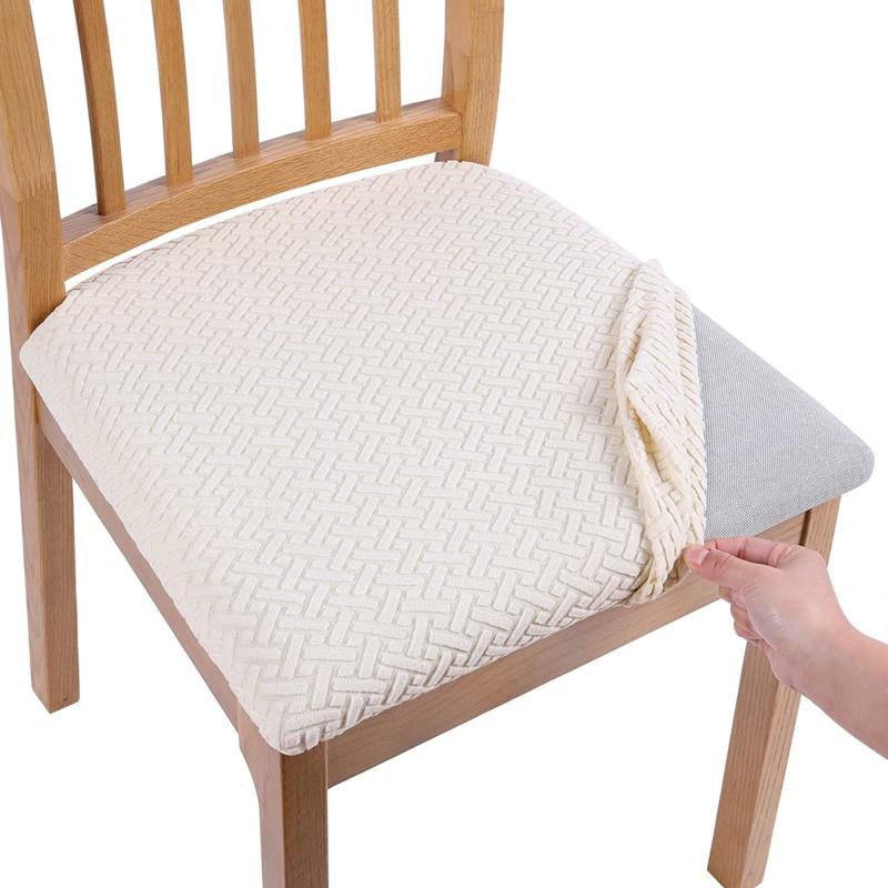 Smiry Seat Covers For Dining Room, Dining Room Seat Covers With Ties