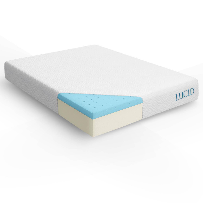 10 Inch Queen Size Memory Foam Mattress Gel Twin XL Full ...