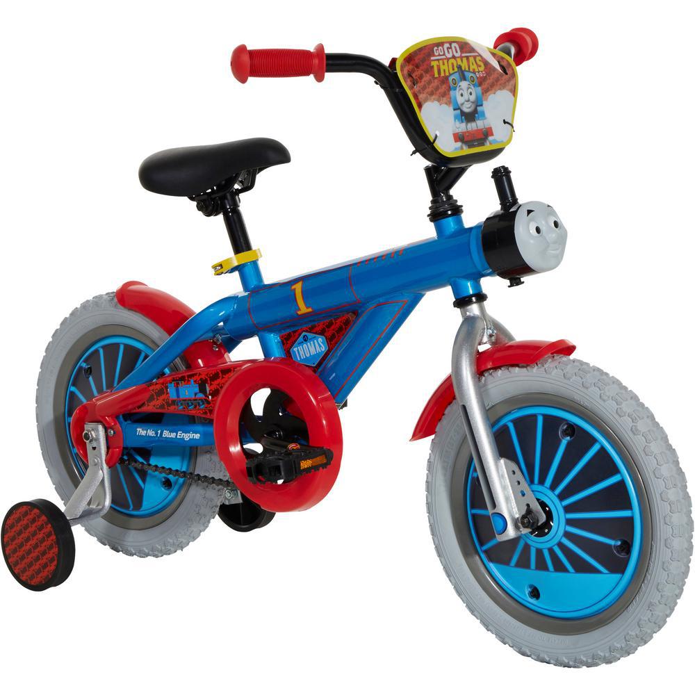 Dynacraft 14 in. Kids Bike Thomas the Train Realistic Sounds