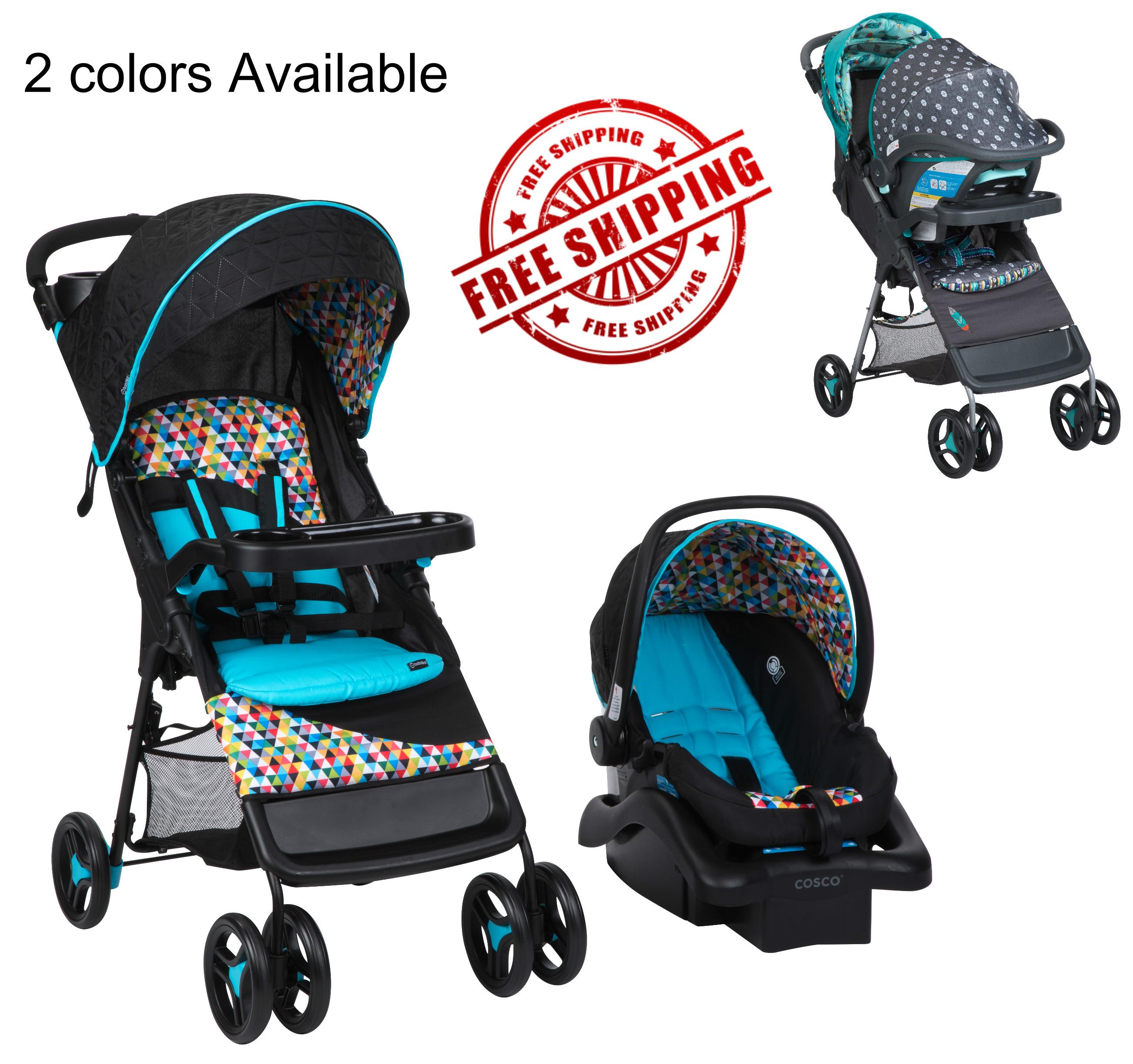 Baby Infant Car Seat Stroller Combo Boys Girl Travel System