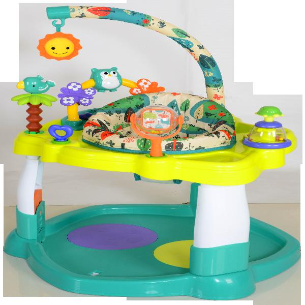 Rotating Seat Creative Baby  Woodland Activity Center  Washa