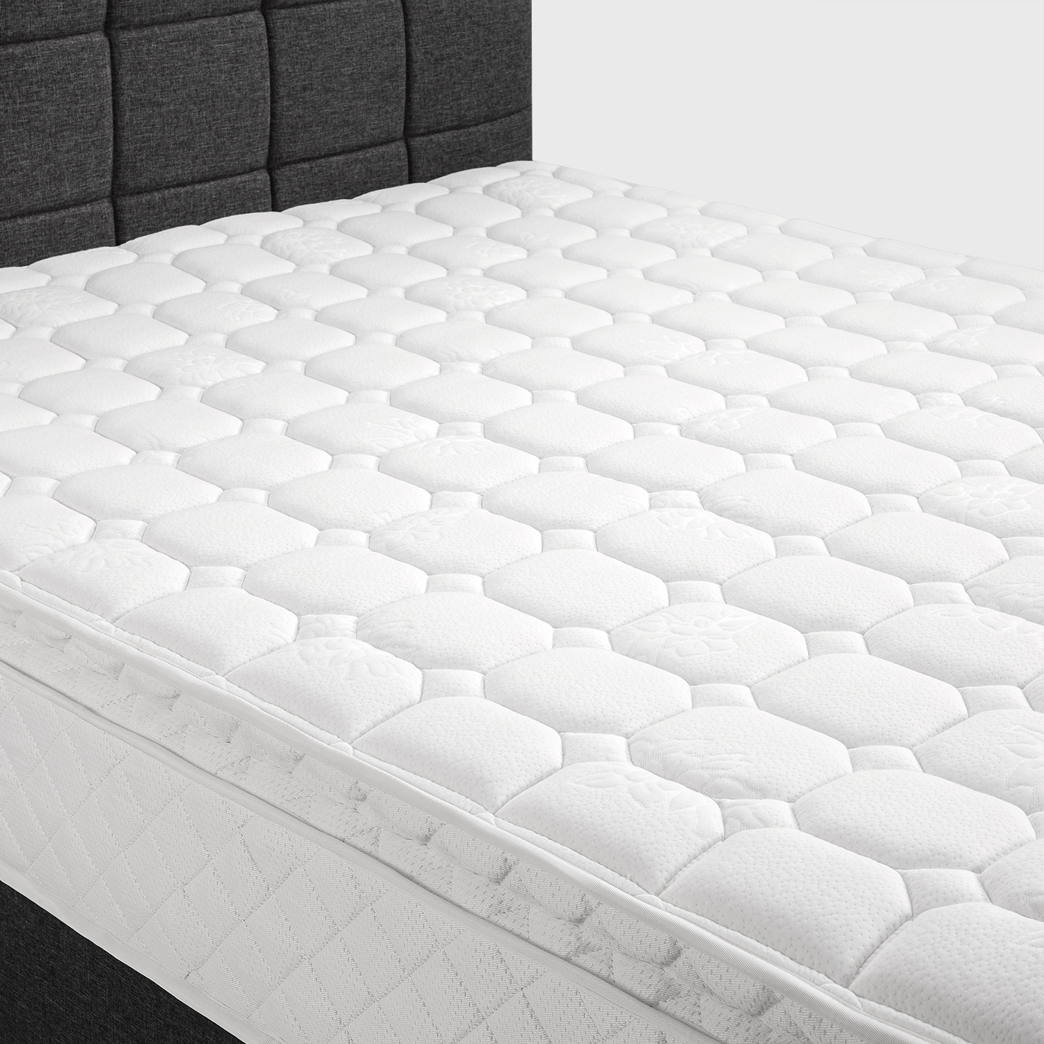 Extra Firm Pillow Top Bedroom Innerspring Mattress Box 10 ...