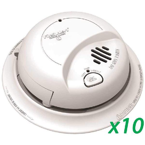 First Alert Brk 9120b Hardwired Ac Powered Smoke Manual Guide