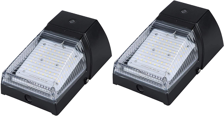 2 Outdoor Led Light Photocell Dusk To Dawn Barn Lights