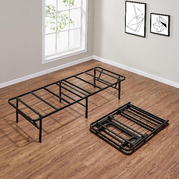 "Foldable Platform Bed Frame 14"" Inch Heavy Duty Steel ALL Si"