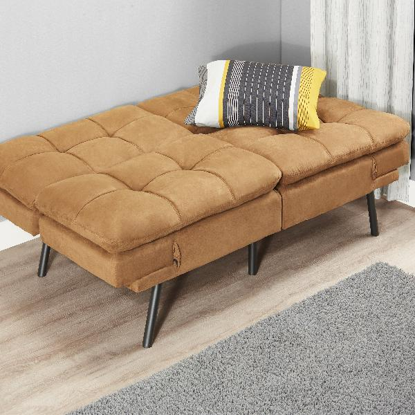 Full Size Memory Foam Futon Sofa Bed Couch Sleeper ...