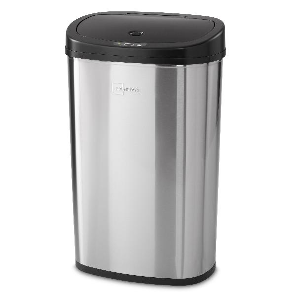 Motion Sensor Trash Can 13 Gallon Stainless Steel Kitchen Ga