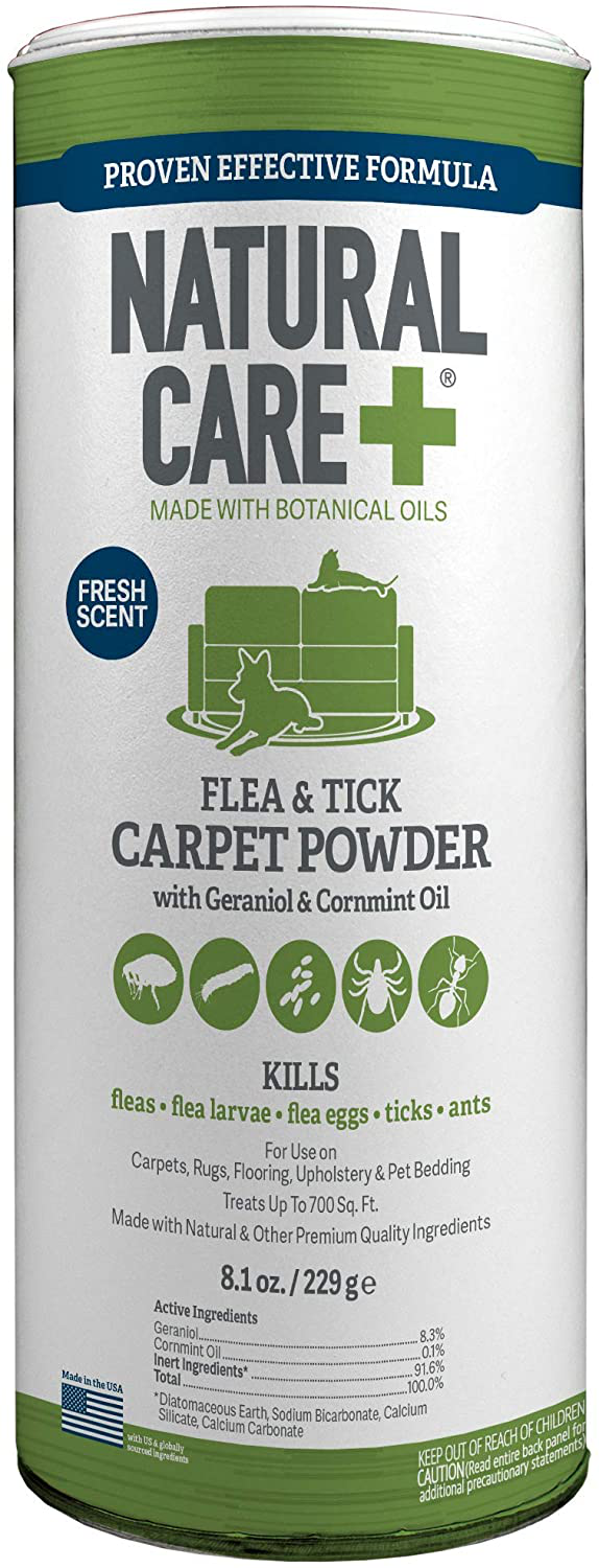 flea and tick carpet powder for rugs