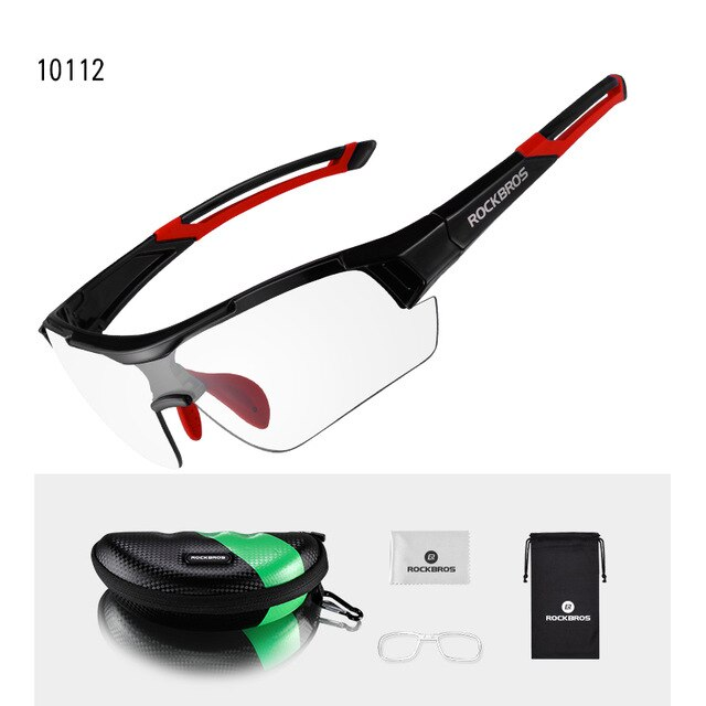 ROCKBROS-Photochromic-Cycling-Bicycle-Bike-Glasses-Outdoor-Sports-MTB-Bicycle-Bi thumbnail 11