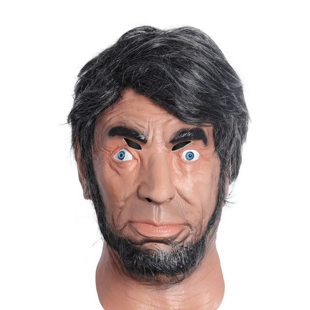 Realistic-Lincoln-Party-Abraham-Mask-Man-Costume-Latex-Mascara-Full-Face-with-Re