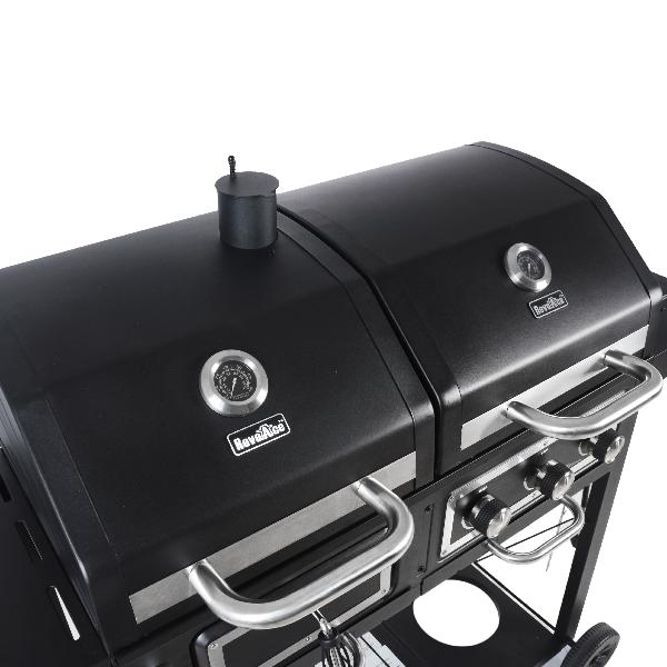 Charcoal Gas Grill Dual Fuel Combination BBQ Outdoor ...