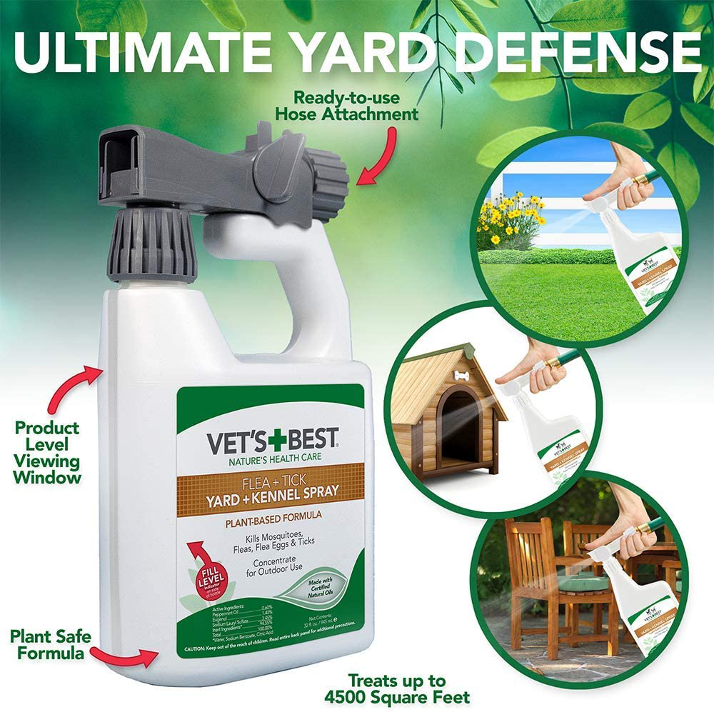 Best Flea and Tick Yard and Kennel Spray | eBay