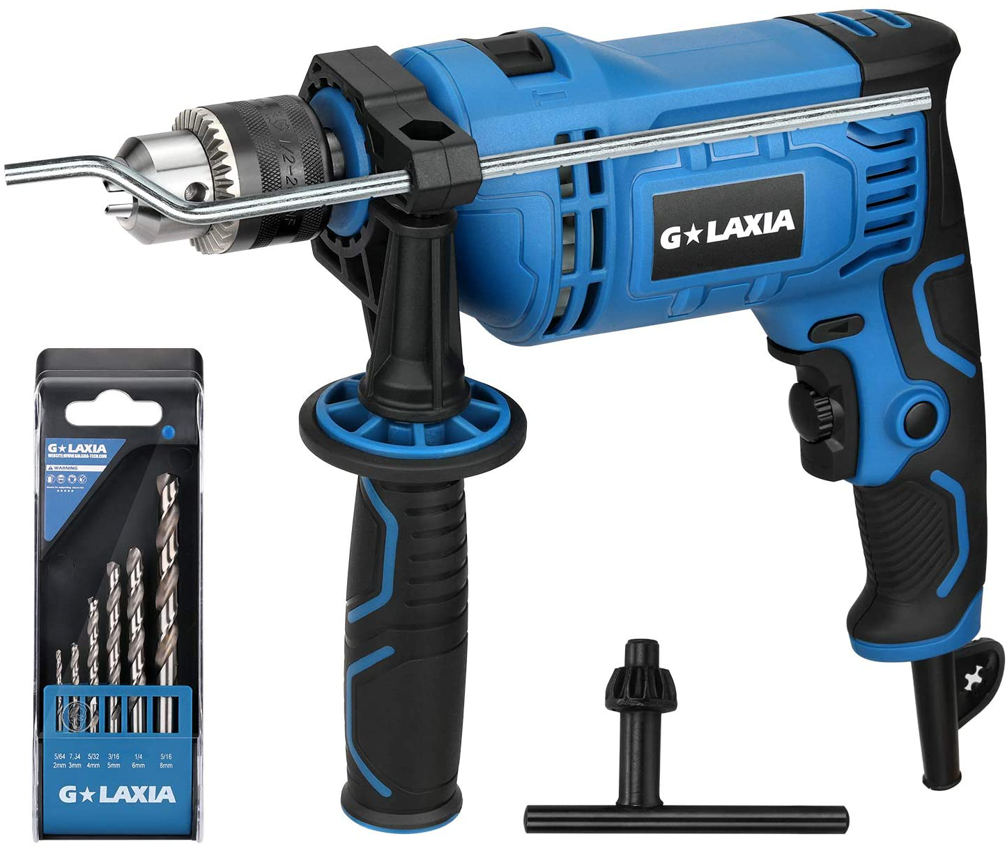 7.5Amp 1/2-inch Keyed 0-2800RPM Variable Speed Corded Drill