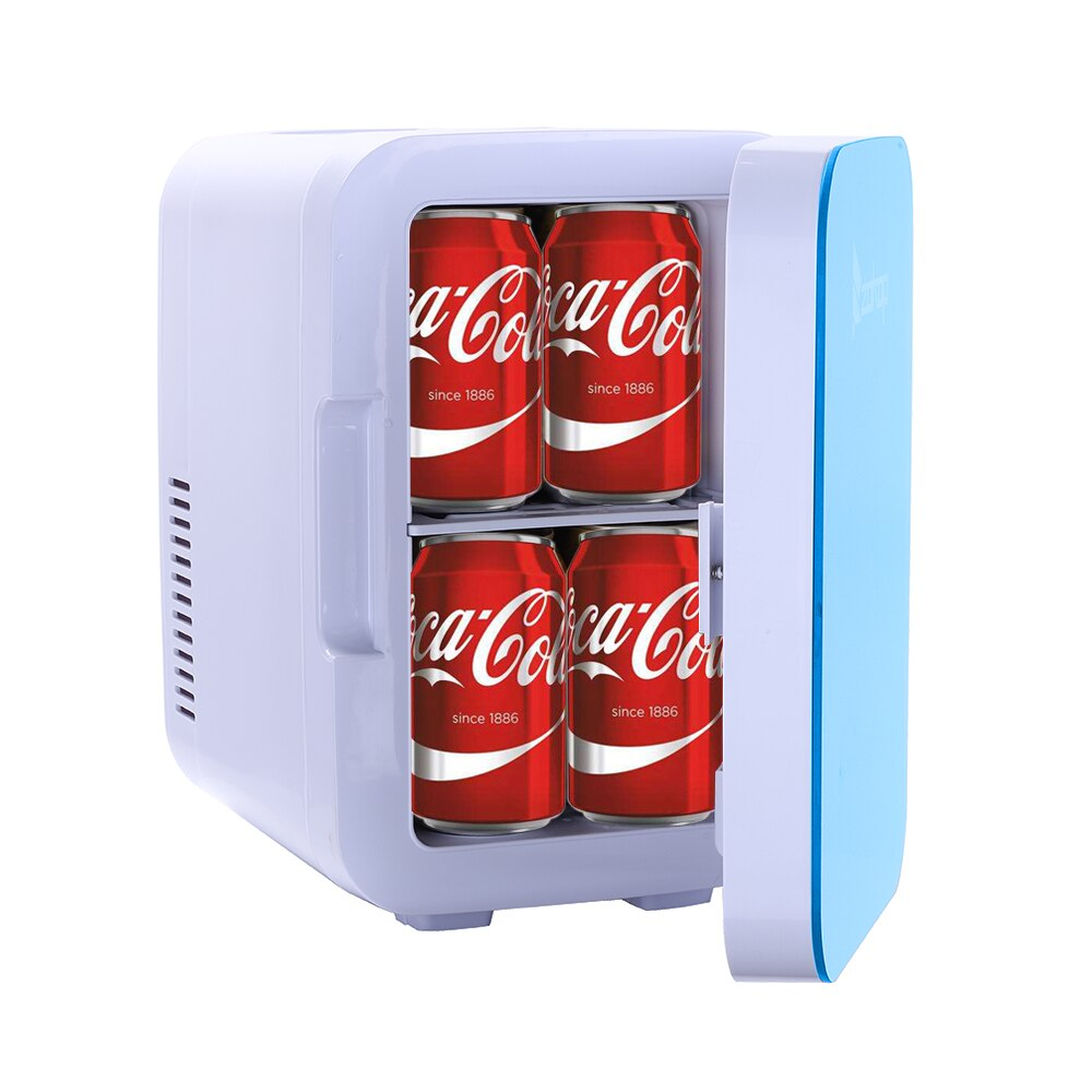 ZOKOP-Electric-Mini-Portable-Fridge-Cooler-Warmer-6-Liter-0-21-Cuft-8-Can-AC thumbnail 5